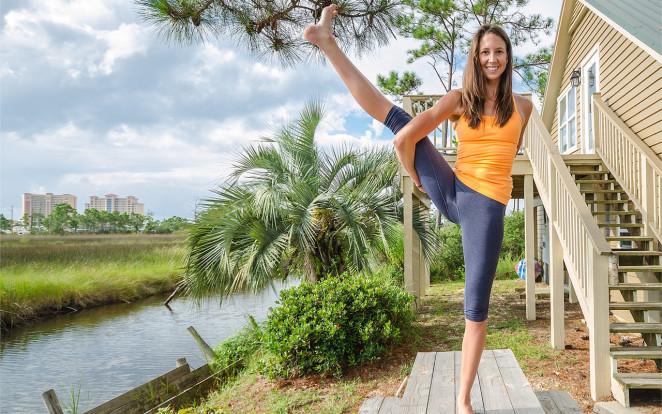 gulf shores yoga photography