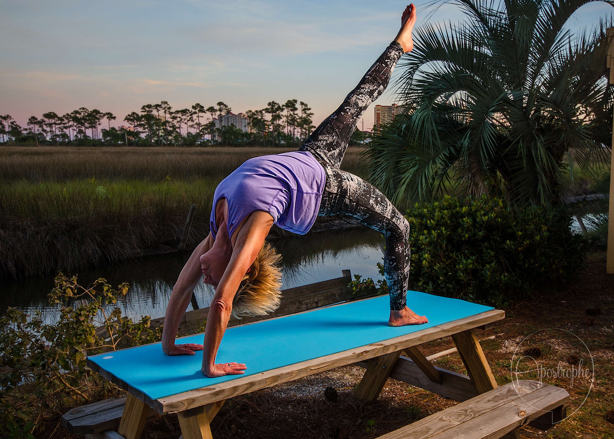 yoga fitness photography
